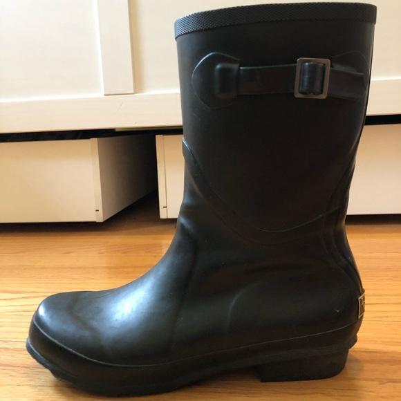 f8b2b1b3499 Women's L.L.Bean Wellies Rain Boots, Mid, Size 9